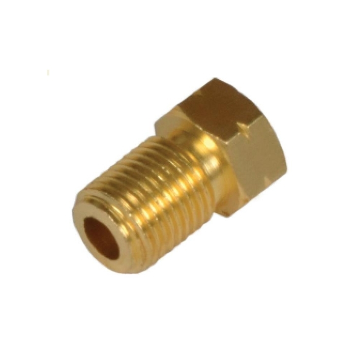 Brass Inverted Flare Plug