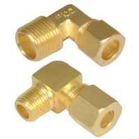 Brass Compression Male Elbow