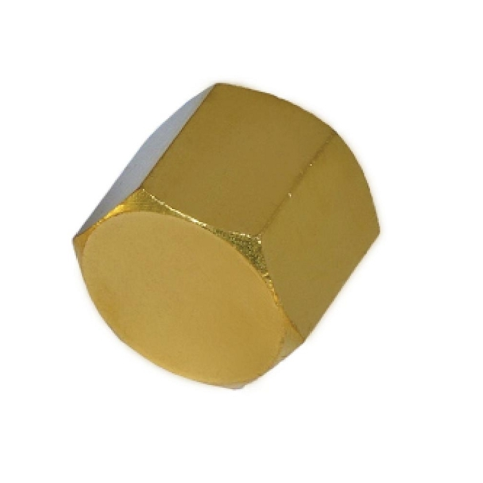 Brass Pipe Hex Cap