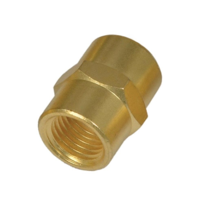 Brass Pipe Hex Female Socket