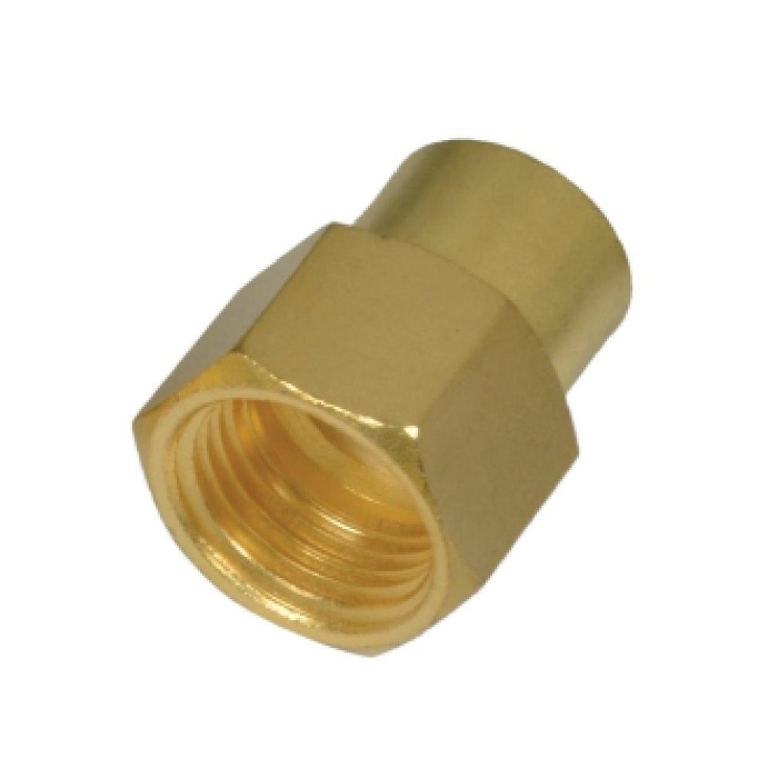 Brass Pipe Hex Reducing Female Socket