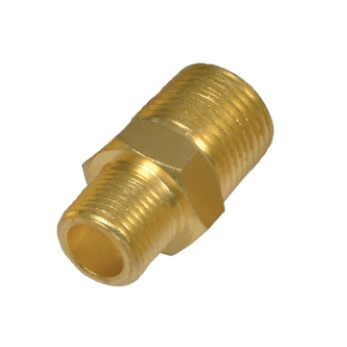 Brass Pipe Hex Reducing Nipple