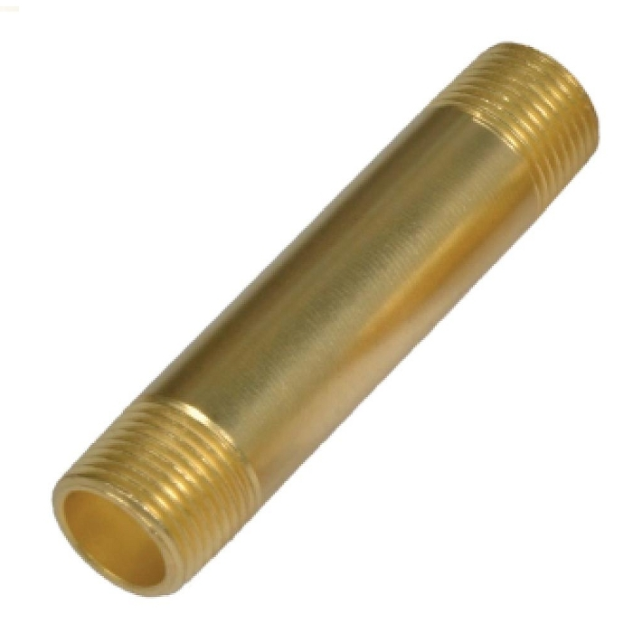 Brass Pipe Long Nipple