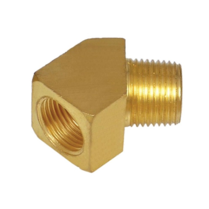 Brass Pipe Barstock 45* Street Male Female Elbow
