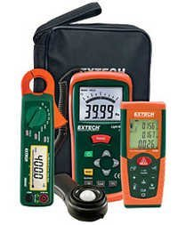 Lighting Retrofit Kit with Power Clamp Meter