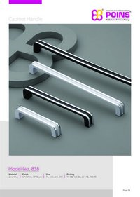 Coated Cabinet Handles