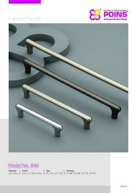 Chrome Plated Cabinet Handles