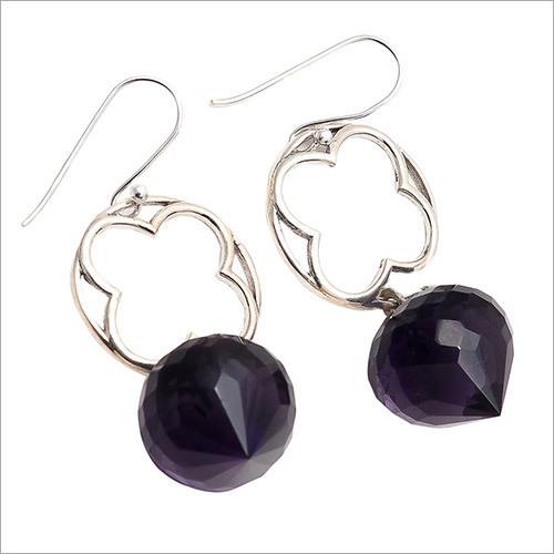 Amethyst Gemstone New Design Earring