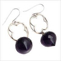 Amethyst Gemstone New Design Earring