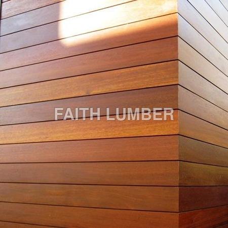 Solid Wood Facade