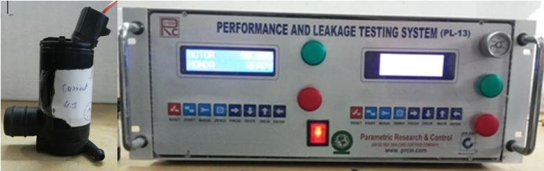 Motor Performance & Leakage Tester