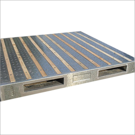Sheet Steel Pallet Fabrication Services