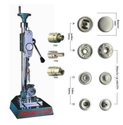 Pull Force Tester for Button Snap