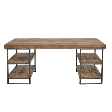 Reclaimed Wood Top Desk