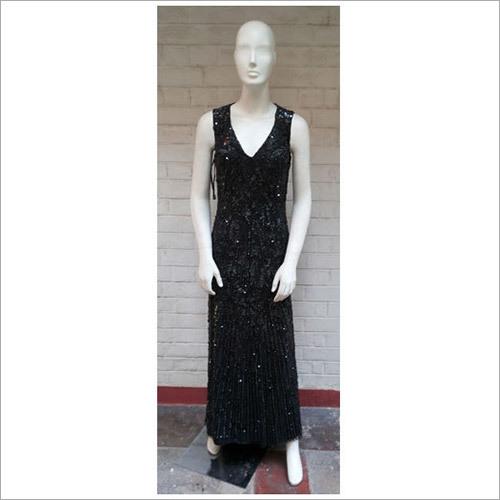 Hand Beaded Sequin Long Dresses