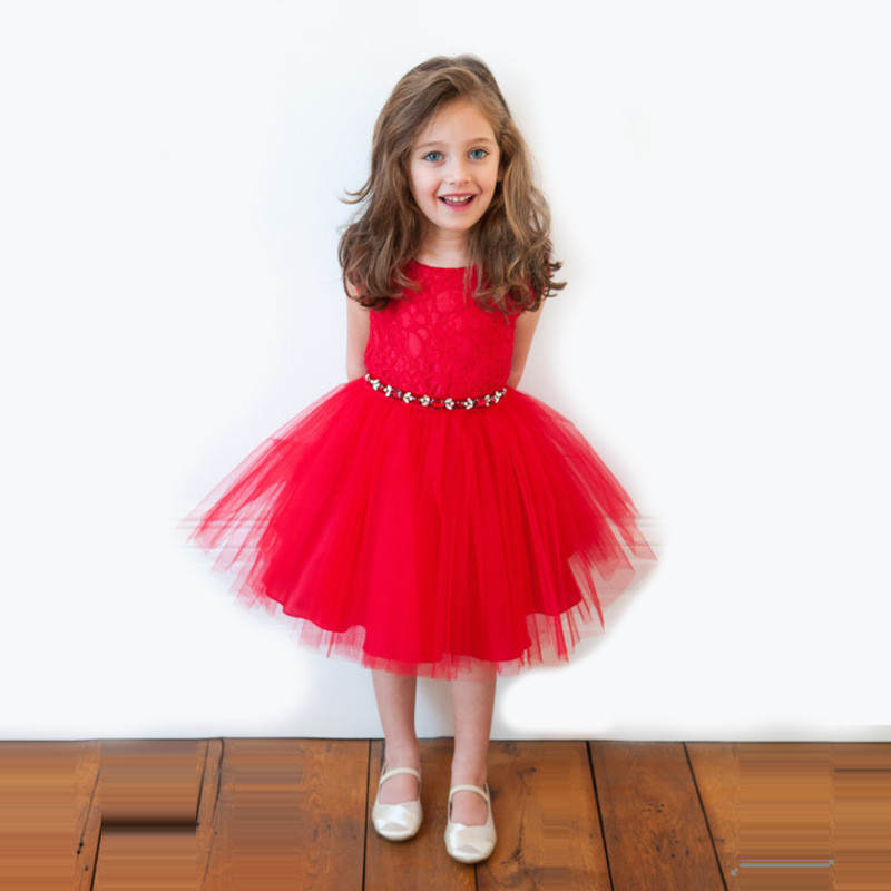 2016 Latest Kids Evening Party Dresses Baby Girl  Dress