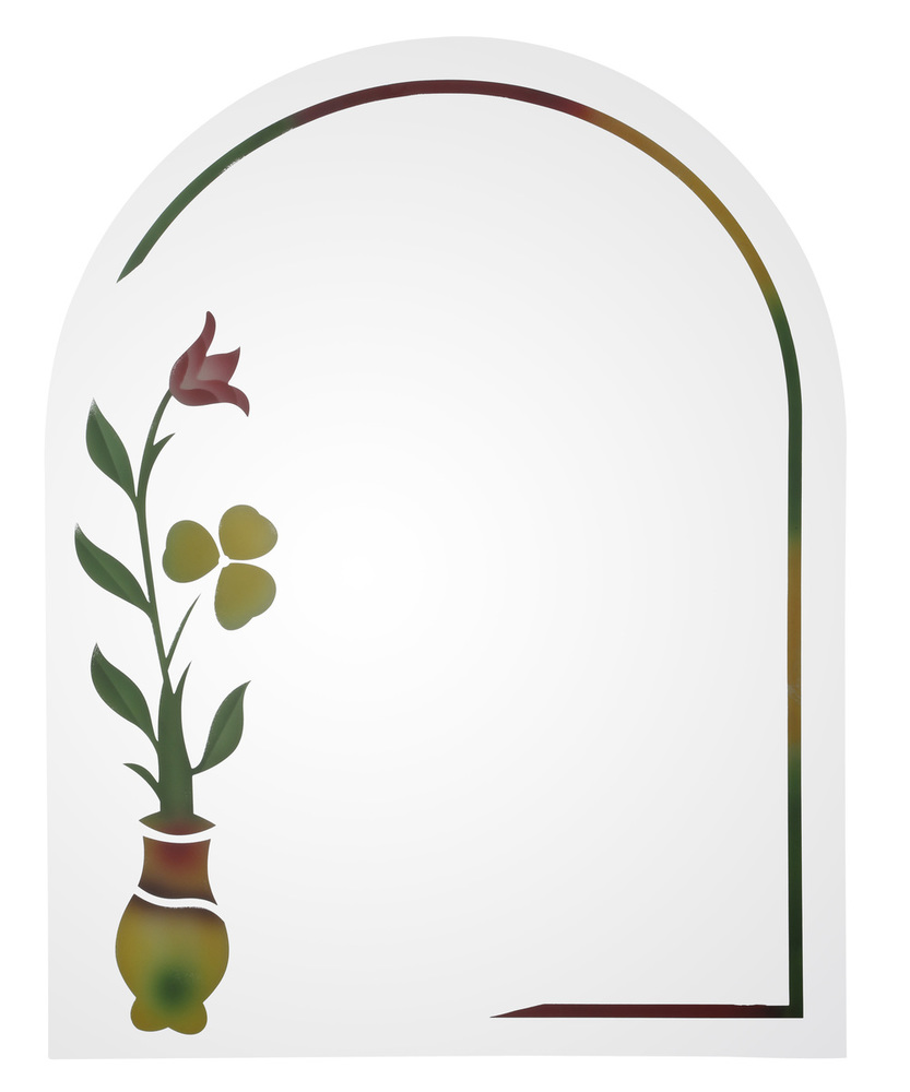 Colour Etching Mirror