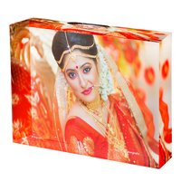Sublimation Crystal Photo Frame - Rectangle