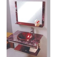 Modern Glass Vanity Sets