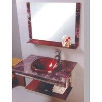 Modern Glass Vanity Sets