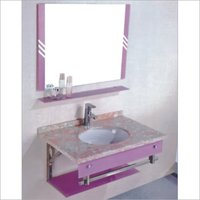 Glass Bathroom Vanity Sets