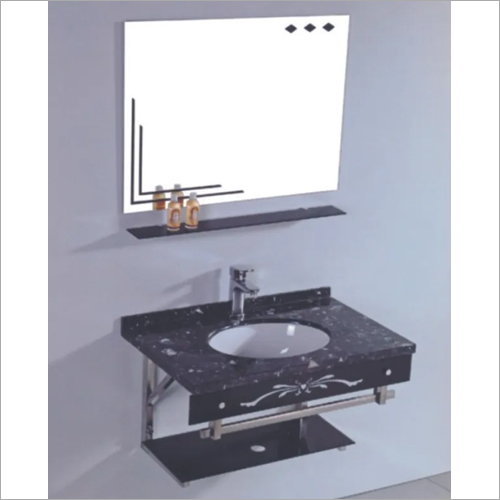 Wall Hung Glass Vanity