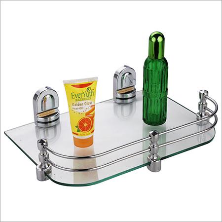 Set Top Box Stand Glass Corner