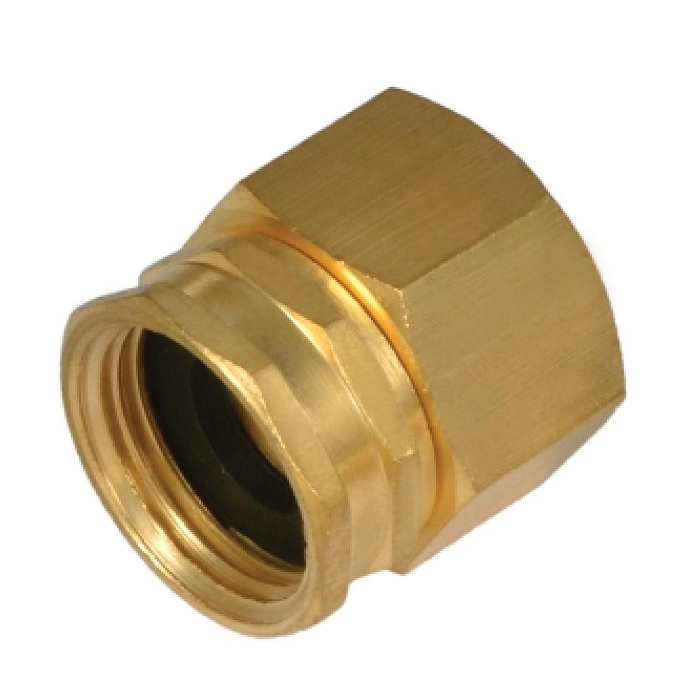 Brass Hose x Pipe Swivel