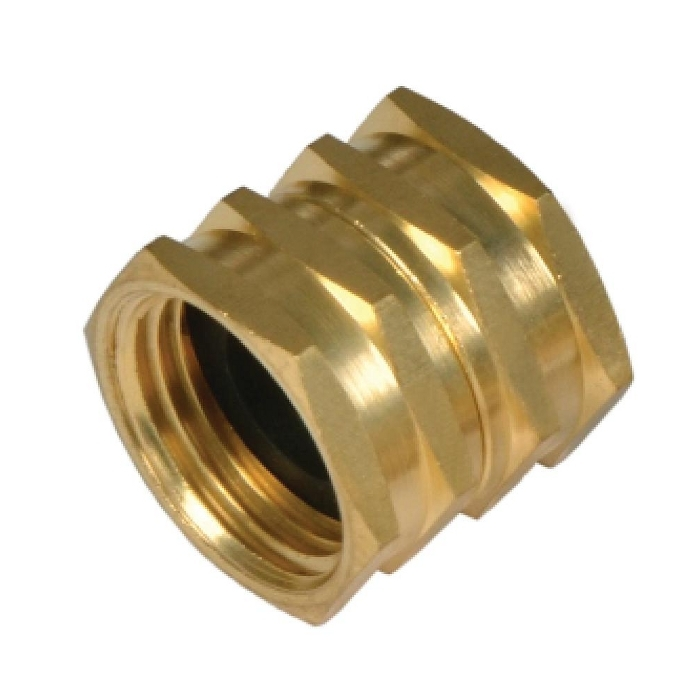 Brass Hose X Hose Swivel