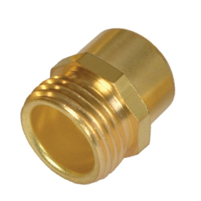 Brass Hose Adapter ( Male Hose to Female Pipe )