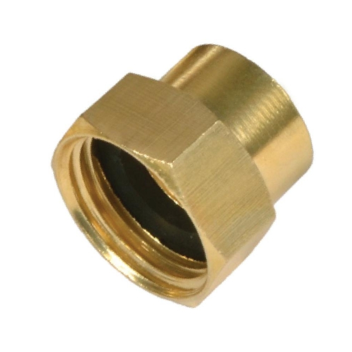 Brass Hose Adapter ( Female Hose to Female Pipe )