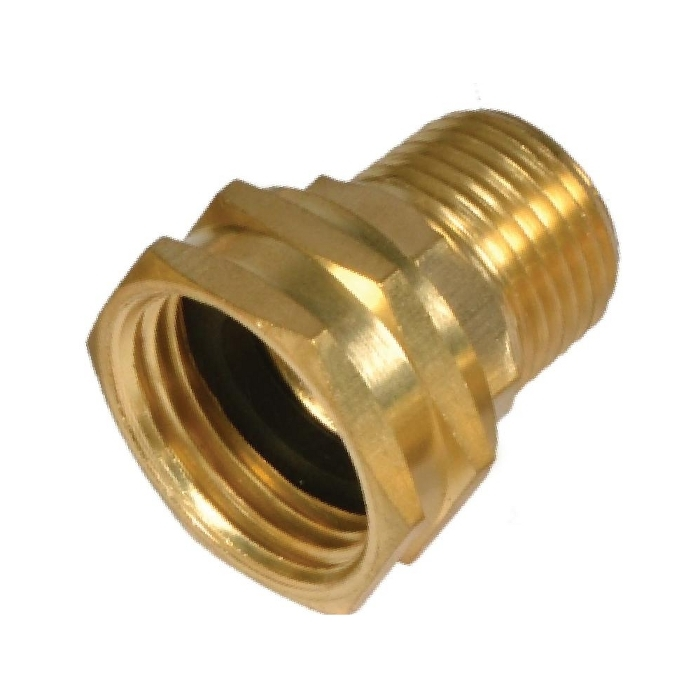 Brass Hose Adapter ( Female Hose To Male Pipe )