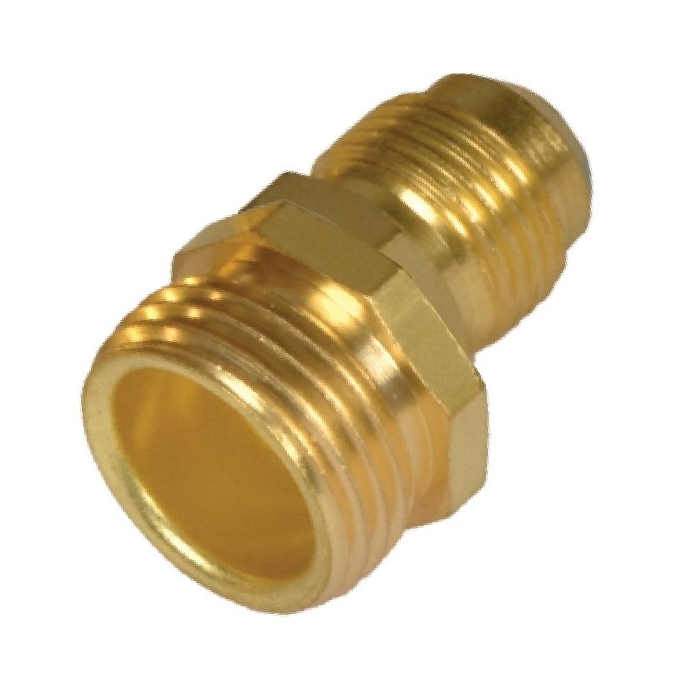 Brass Hose Adapter ( Flare to Male Hose )