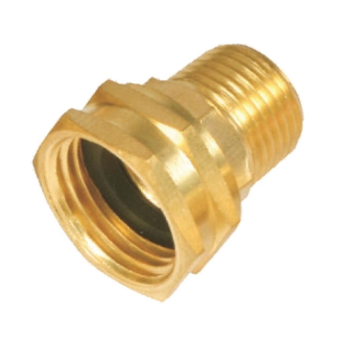 Brass Hose Adapter ( Flare to Female Hose )