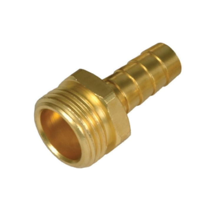 Brass Male End