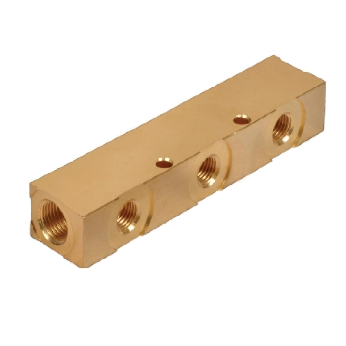 Brass Manifold 3 Port