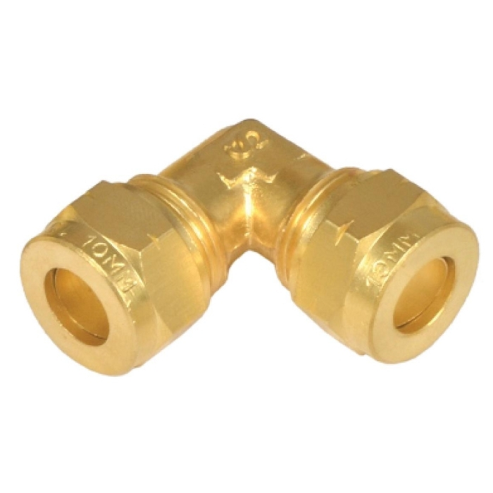 Brass Equal Elbow