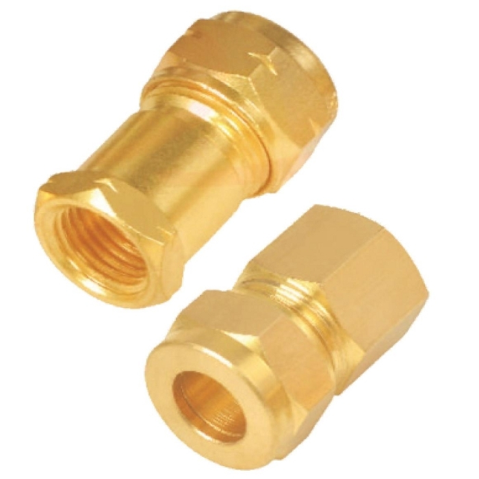 Brass Female Stud Coupling