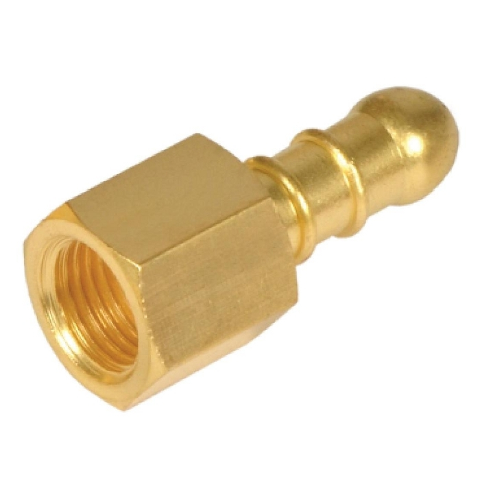 Brass Nozzle Adapter Rubber Hose Female BSP