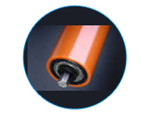 PVC tubes for rollers and industrial conveyors