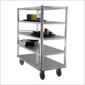 Steel Kitchen Shelf Trolley