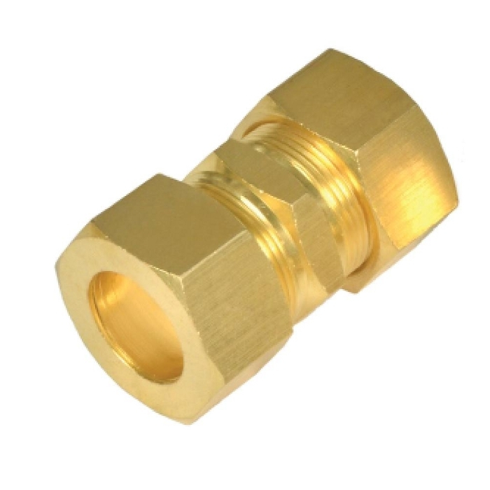 Brass Double Union