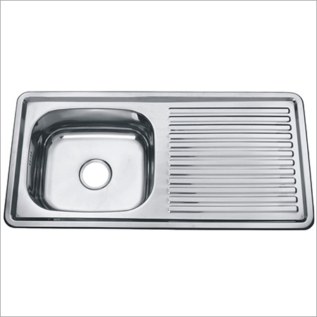 Kitchen Sink With Drainboard