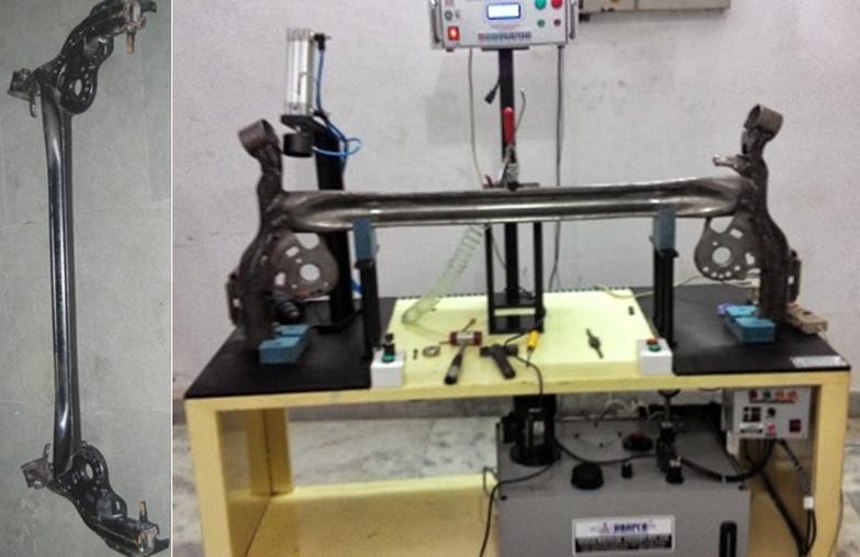 Leakage Testing Machine for Axle