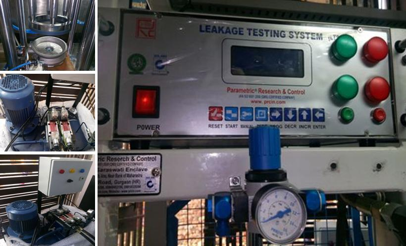 Leakage Testing Machine for Flange