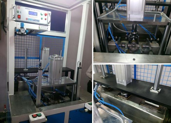 Leakage Testing Machine for RG-2 Body