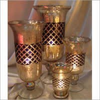 Black Diamond Candle Holder