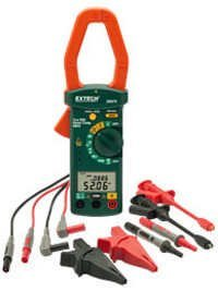 1 Phase/3 Phase 1000A AC Power Clamp Meter