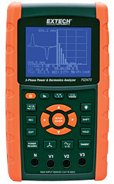 3-Phase Graphical Power & Harmonics Analyzer