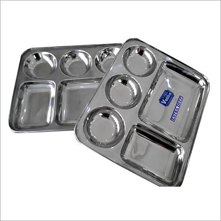 Steel Divided Dinner Plate